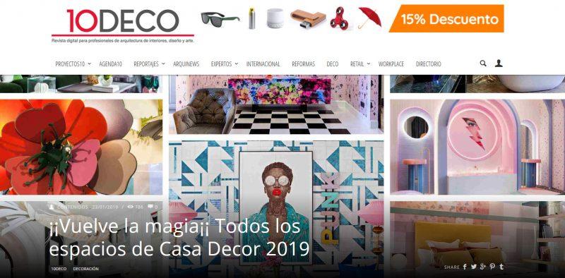 10decoracion ¡¡Vuelve la magia¡¡ Todos los espacios de Casa Decor 2019