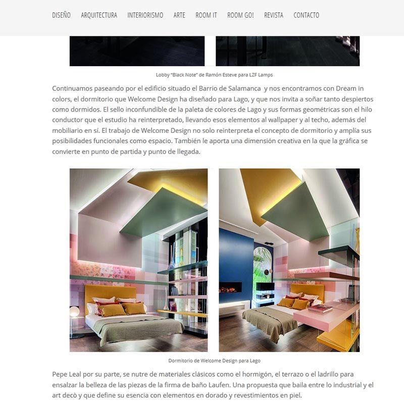 ROOM DISEÑO Los mejores proyectos de interiorismo de Casa Decor 2019