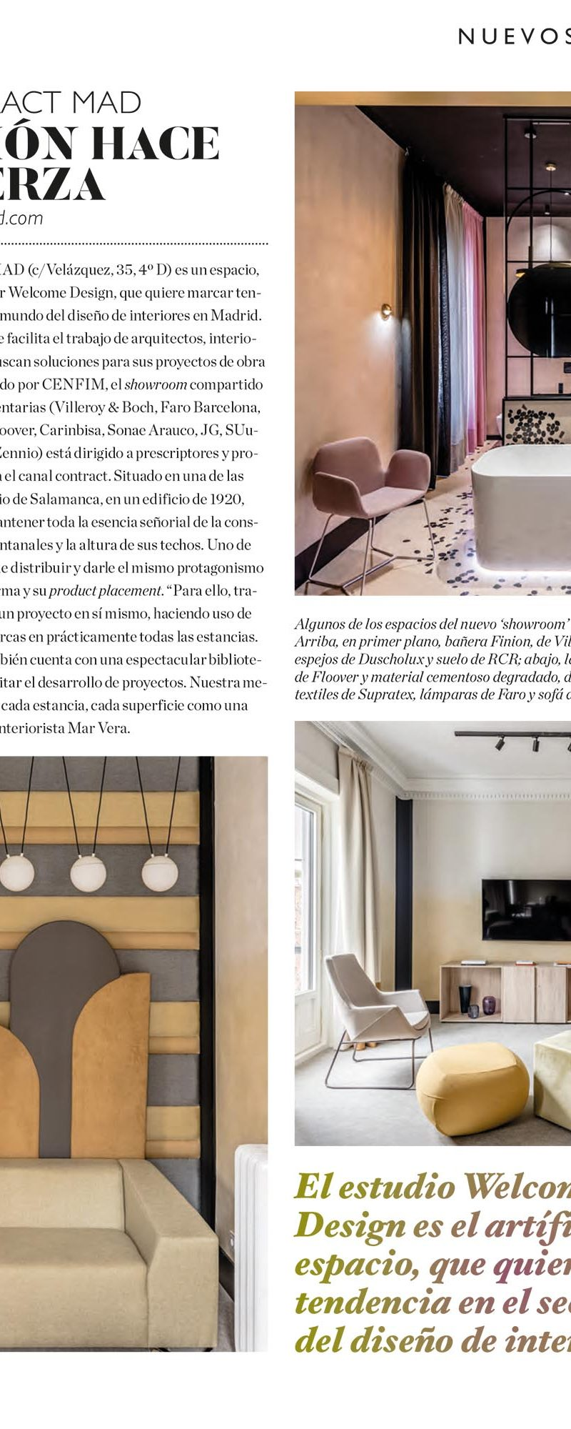 INTERIORES Nº 229. DOCONTRACT MAD