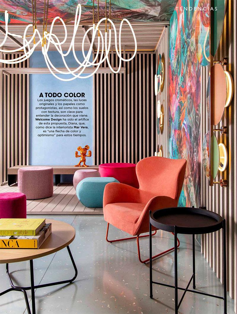 INTERIORES Nº 234. A todo color. Marbella Design